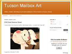page from Tucson Mailbox Art blog